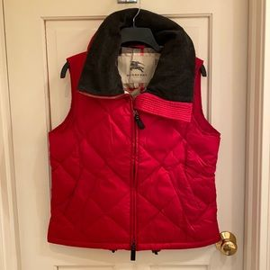 Burberry Quilted Vest Women's Small